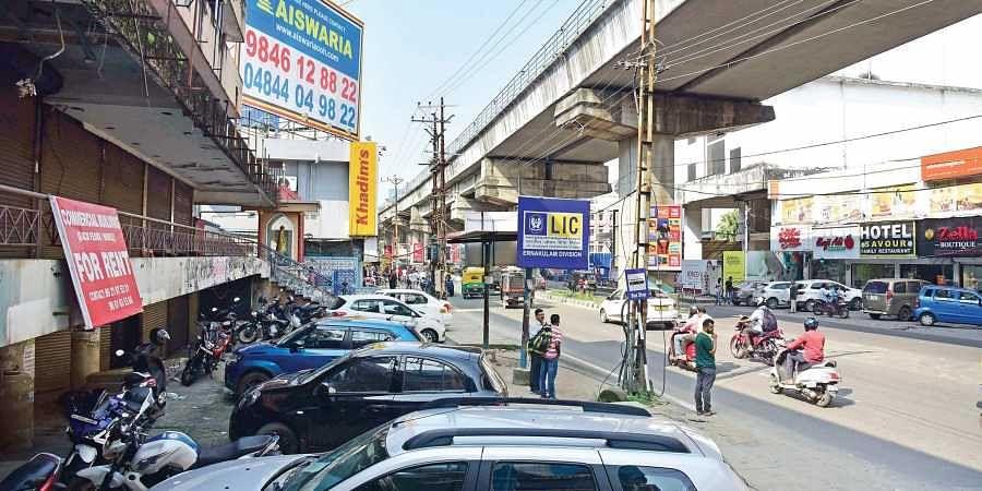 MG Road in Kochi