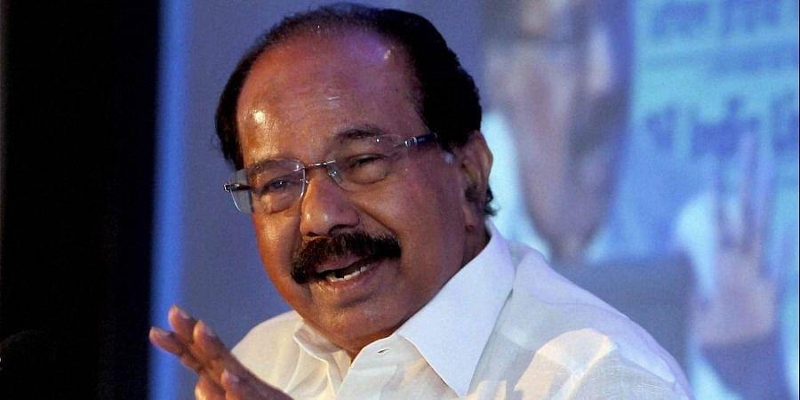 Ex-Karnataka CM Veerappa Moily