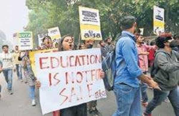 Over 150 universities supported JNU protestagainst the hostel fee hike: JNUSU