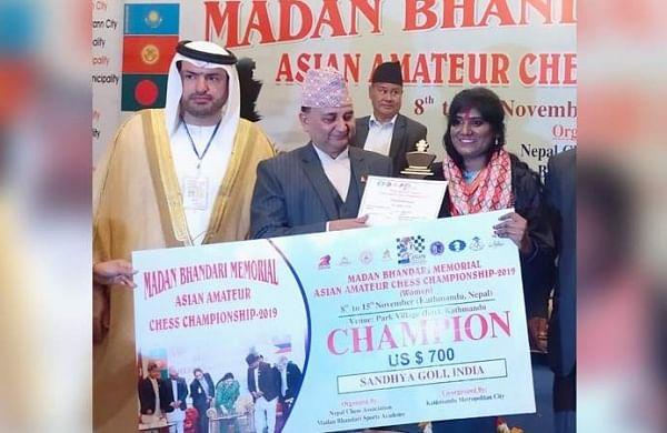Rajamahendravaram girl wins gold at chess championship - The New Indian Express