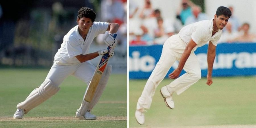 Tendulkar and Younis made their debut in a Test match between India and Pakistan that was played in Karachi in 1989. (Photo | ANI)