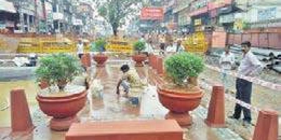 The Chandni Chowk redevelopment project began in December 2018 after a delay  of about 15 years