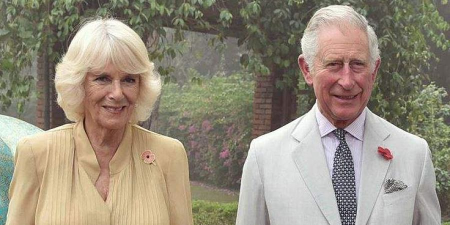 Prince of Wales, Prince Charles (R) and his wife Camilla