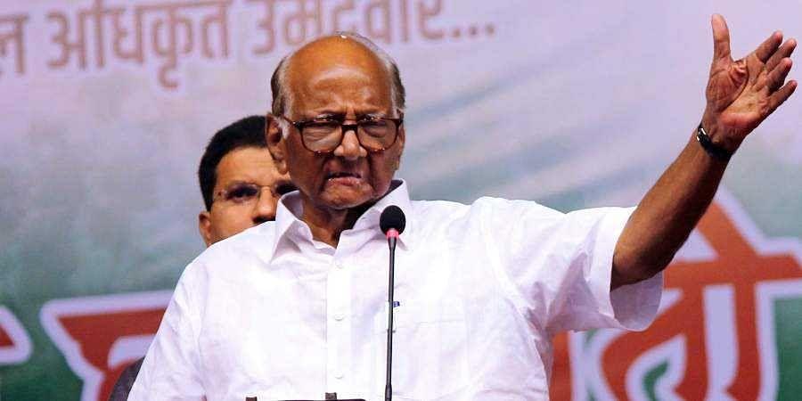 Nationalist Congress Party supremo Sharad Pawar