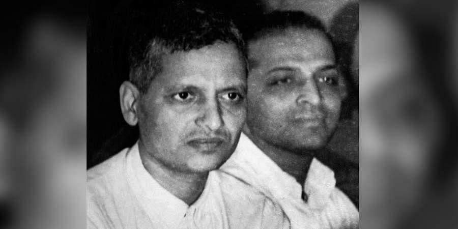 Nathu Ram Vinayak Godse and Narayan Dattatray Apte