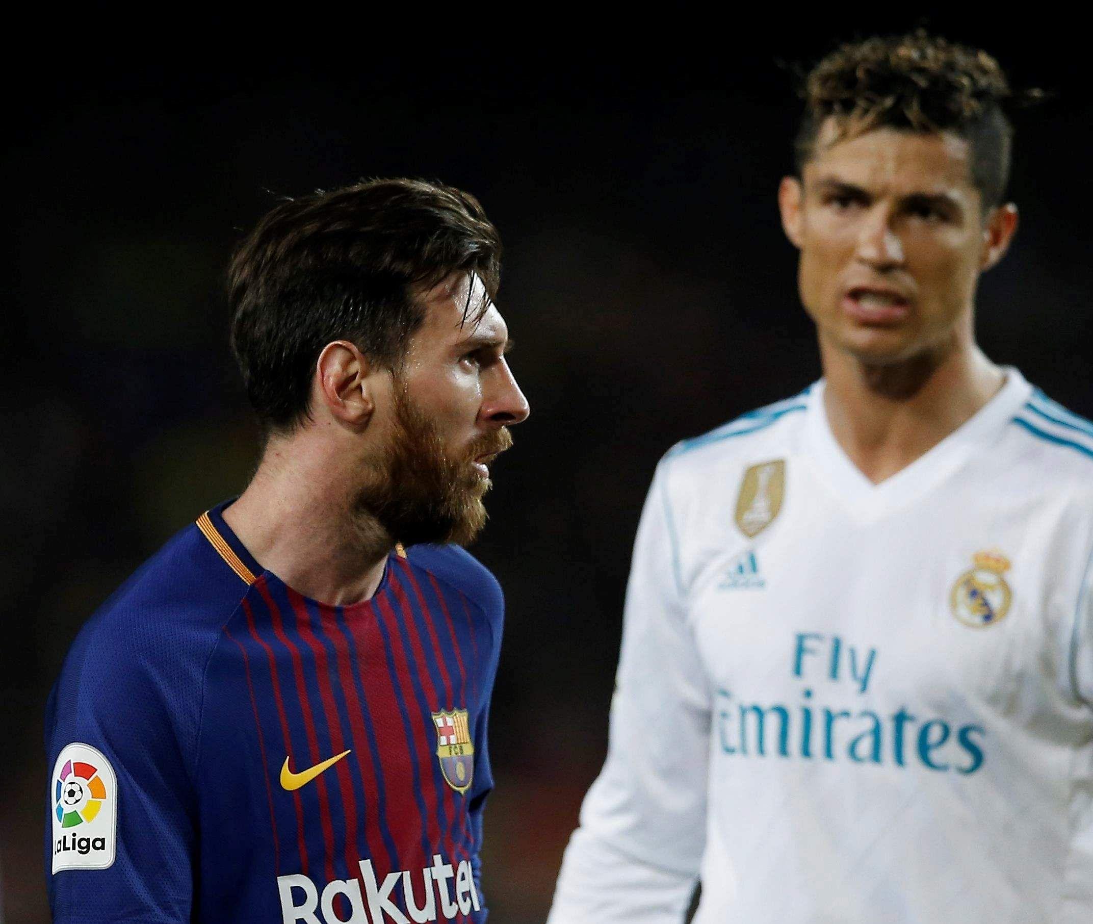 Ronaldo and Messy