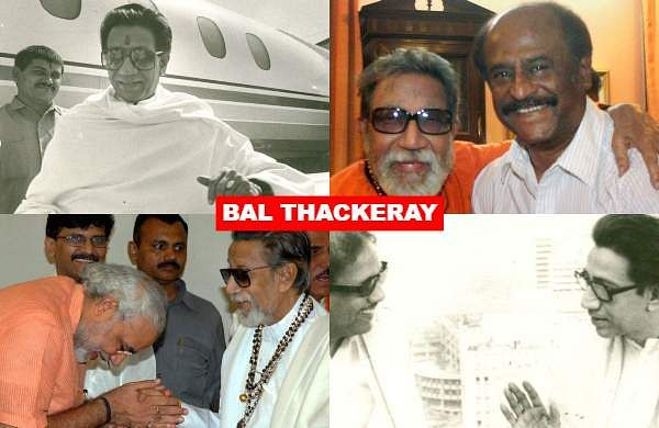 On the seventh death anniversary of Shiv Sena founder Bal Thackeray, let us take a look at some of the rare photos of the late Maharashtra leader.