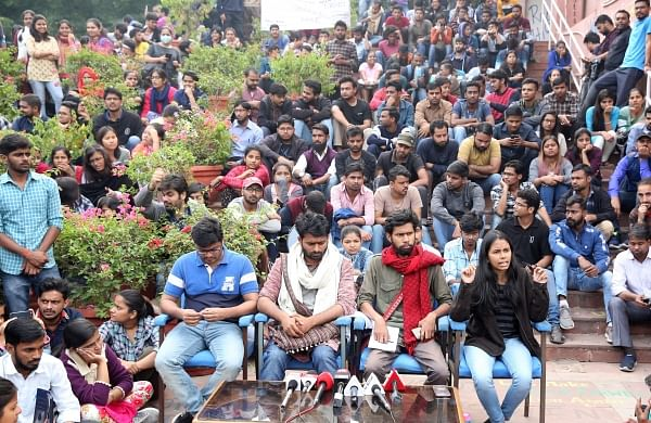 JNUSU to take out protest march to Parliament on Monday