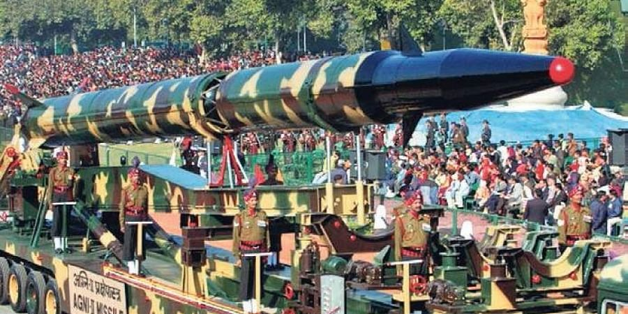 File photo of Agni-II missile during Republic Day parade in New Delhi