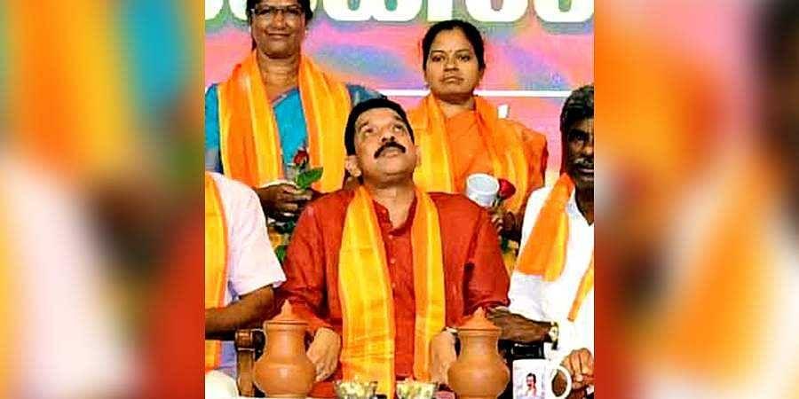 BJP MP Nalin Kumar Kateel