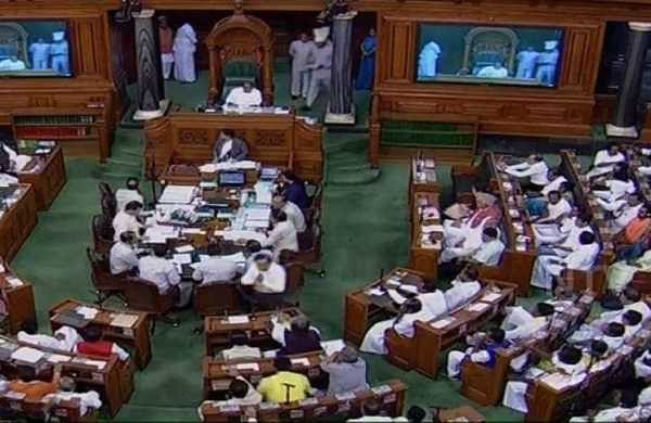 Shiv Sena stages walkout from Lok Sabha over farmers issue