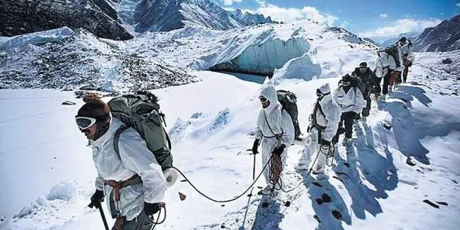 Siachen, known as the world's highest battlefield, is at an altitude of around 20,000 ft above sea level. (File Photo| PTI)