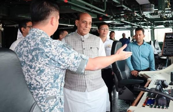 Rajnath Singh begins two-day Singapore visit