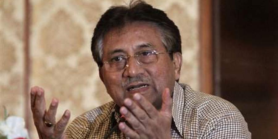 Former president Gen (retd) Pervez Musharraf.