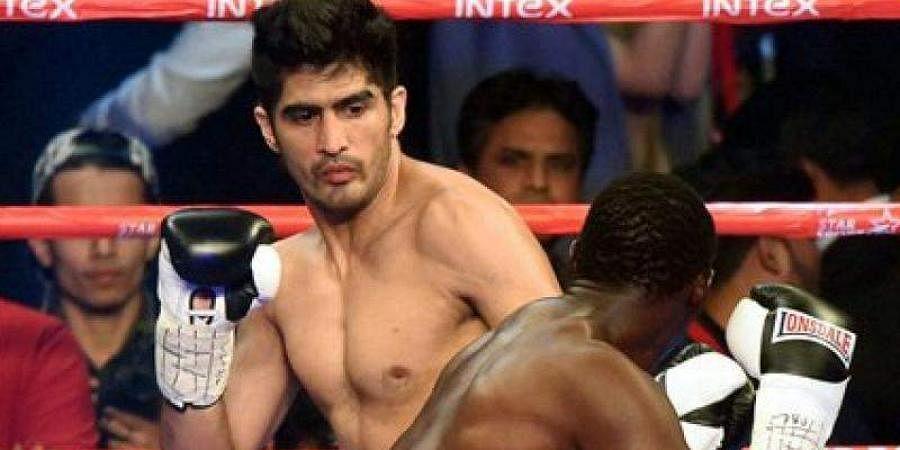 Indian boxing star Vijender Singh