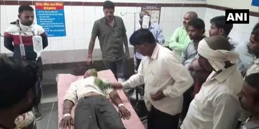 A doctor treated the snakebite victim at the government hospital in Sheopur district