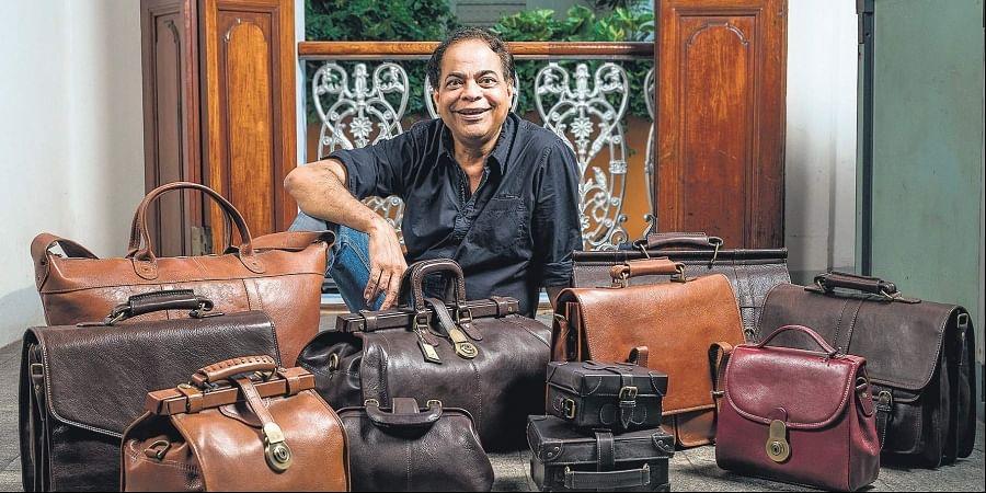 Hidesign founder Dilip Kapur
