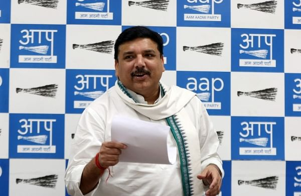 AAP MP gives Zero Hour notice in Rajya Sabha over deteriorating  law, order situation in Delhi