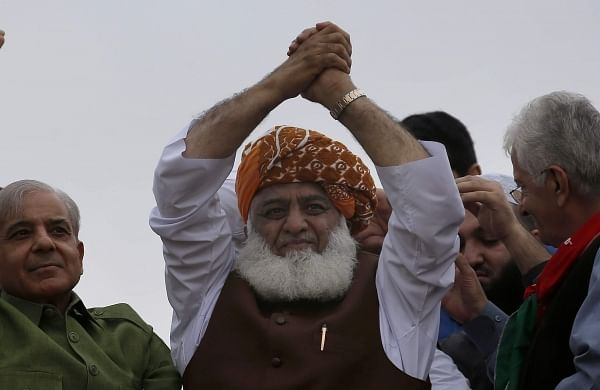 Imran Khan-led government's days are numbered, warns Azadi March leader Maulana Fazlur Rehman