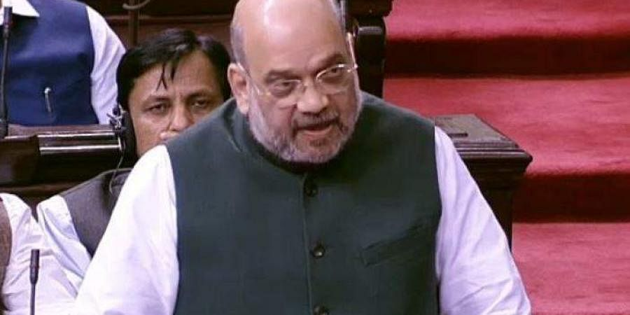 Union Home Minister Amit Shah. | (Photo | Twitter)