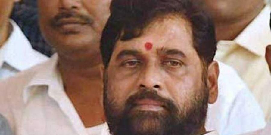 Shiv Sena leader Eknath Shinde
