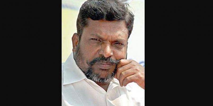 Chidambaram MP and VCK president Thirumavalavan