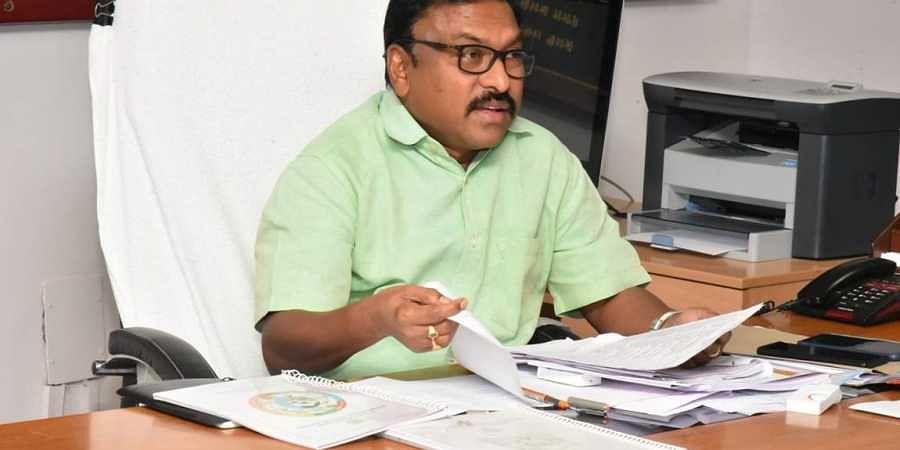 Prakasam District Collector Dr Pola Bhaskar
