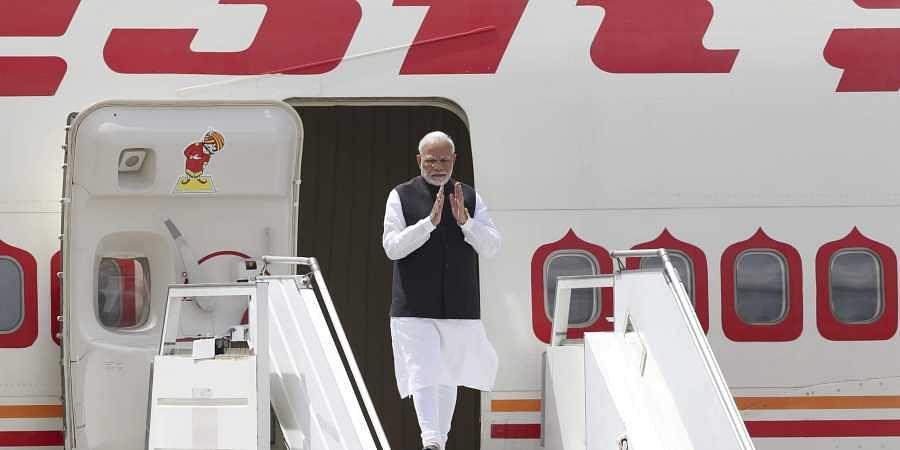 Modi arrives