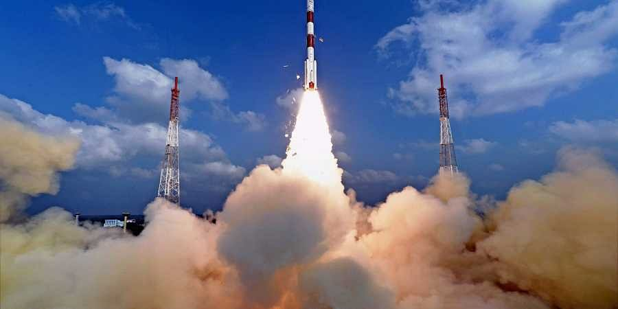 ISRO successfully launched a record 104 satellites including India's earth observation satellite on-board PSLV-C37/Cartosat2. | PTI