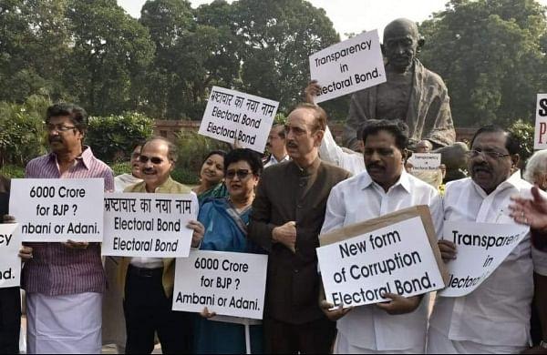Congress asks PM Modi to break silence on electoral bonds, demands scrutiny