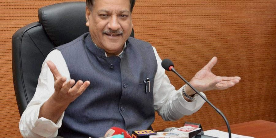 Senior Congress leader Prithviraj Chavan