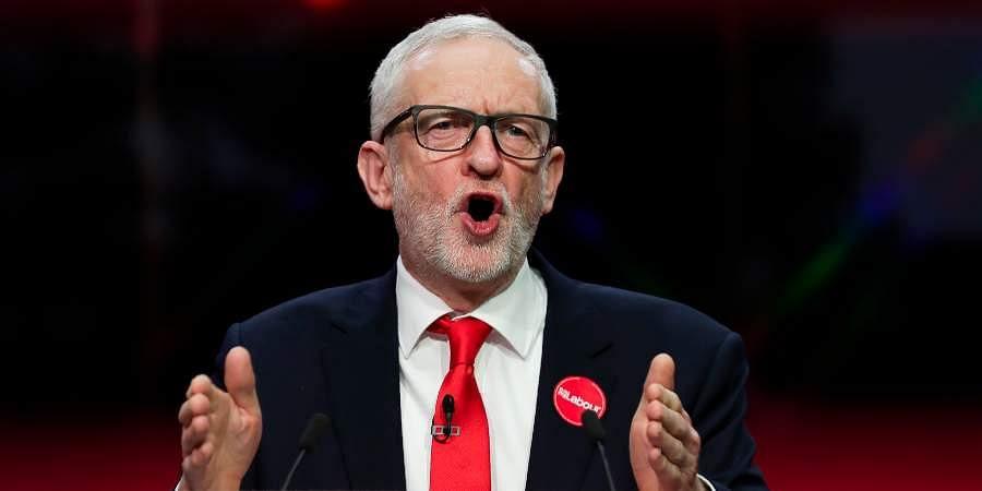 British Opposition Labour leader Jeremy Corbyn