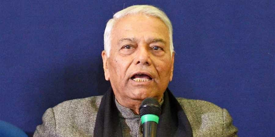 Former Union Minister Yashwant Sinha