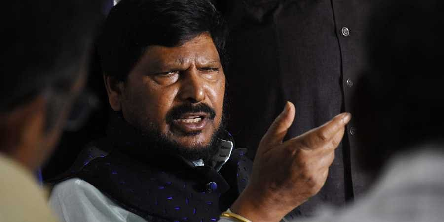 Republican Party of India chief Ramdas Athawale.