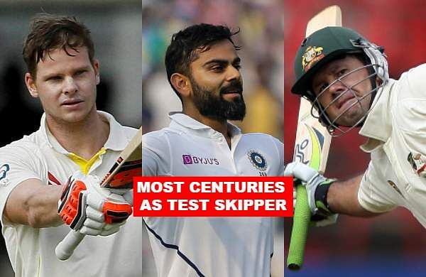 In the ongoing second Test match against Bangladesh, Virat Kohli surpassedformer Australia skipper Ricky Ponting by slamminghis 20th hundredasTest skipper. Let us take a look at the top 12 Test captains to slam most number of centuries.