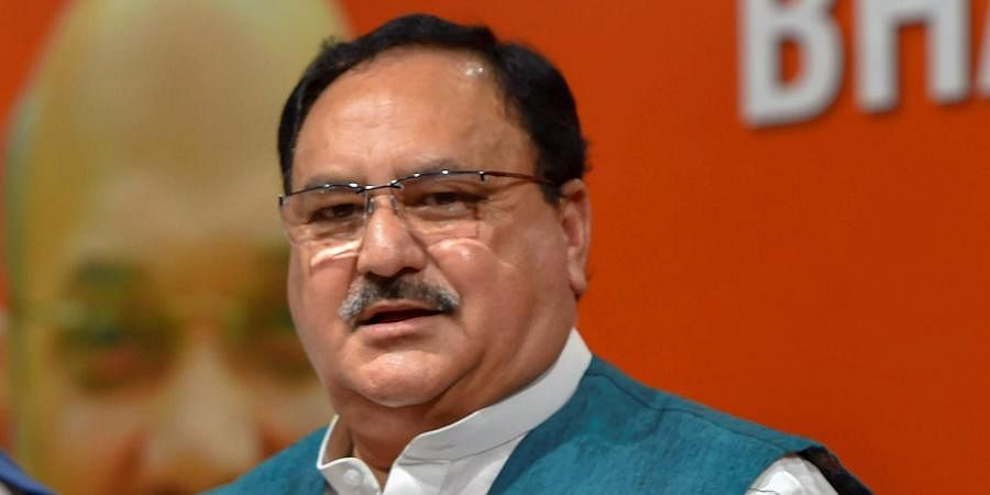 BJP national working president JP Nadda