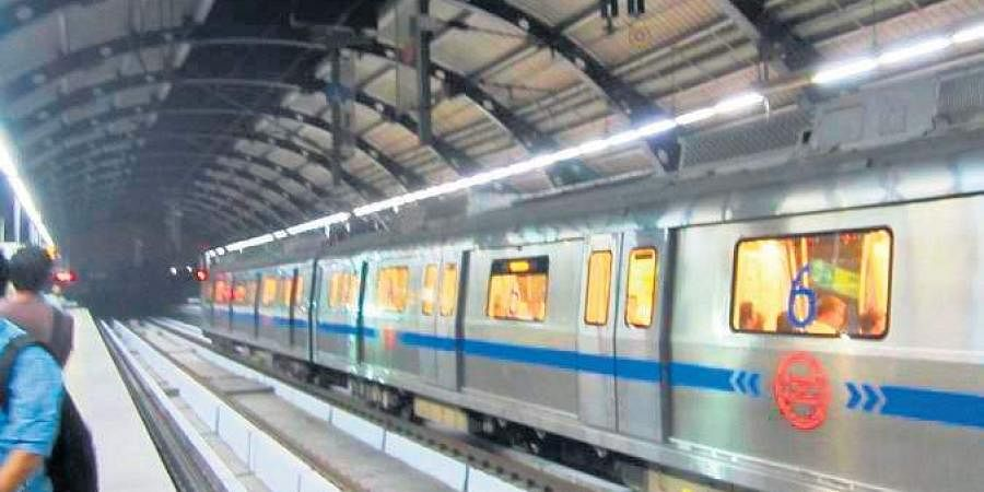 Blue line metro, Delhi metro