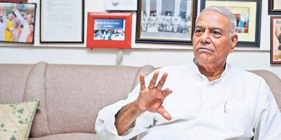 Former Union Finance Minister Yashwant Sinha