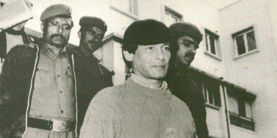 Serial killer Charles Sobhraj
