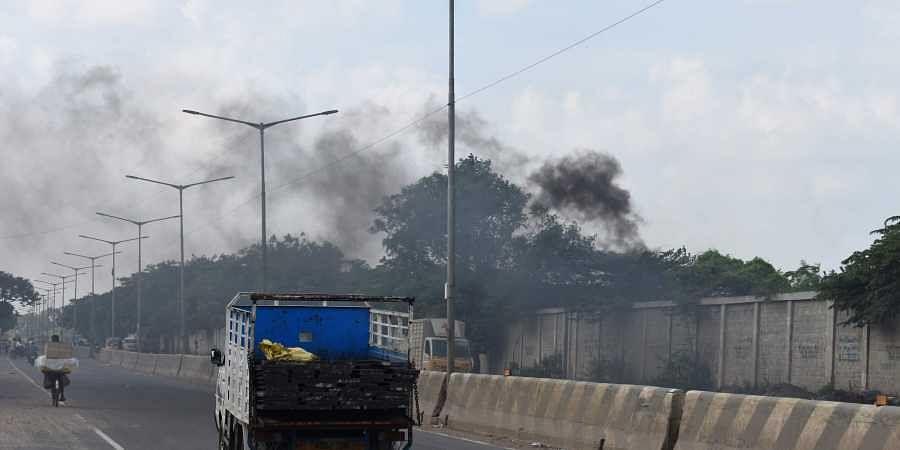 Chennai air pollution: Intense smoke, stench an everyday ...