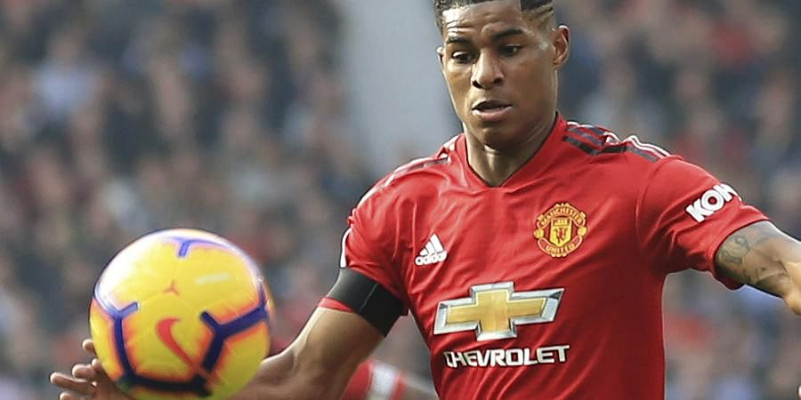 Manchester United Striker Marcus Rashford Back To The Day Job After Activism During Pandemic The New Indian Express