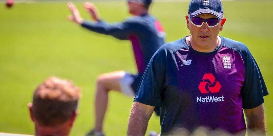 England's head coach Chris Silverwood. (Photo | AFP)