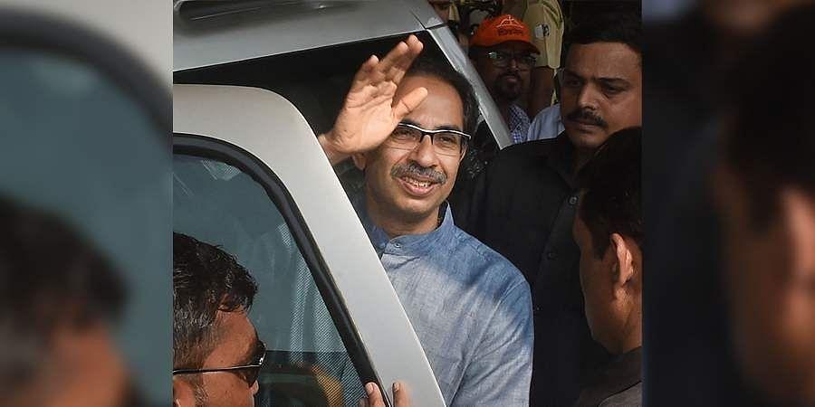 Shiv Sena President Uddhav Thackeray in Mumbai. (File | PTI)