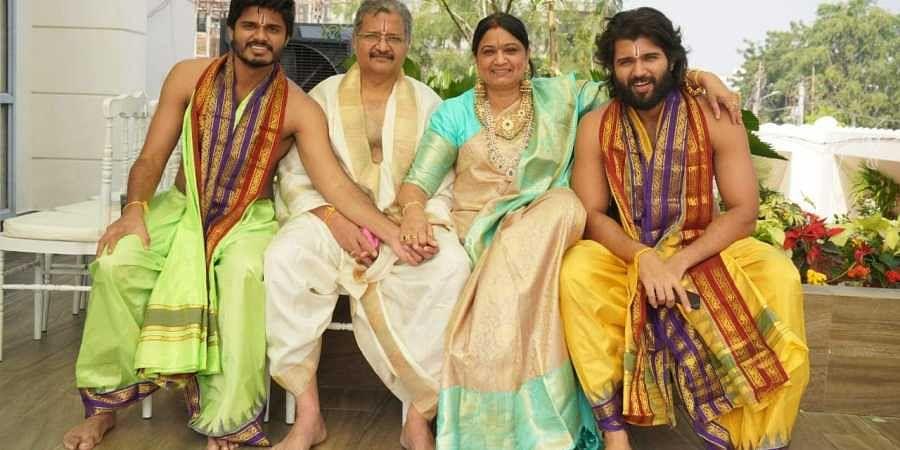 Vijay Deverakonda needs mum to feel safe in new house- The ...