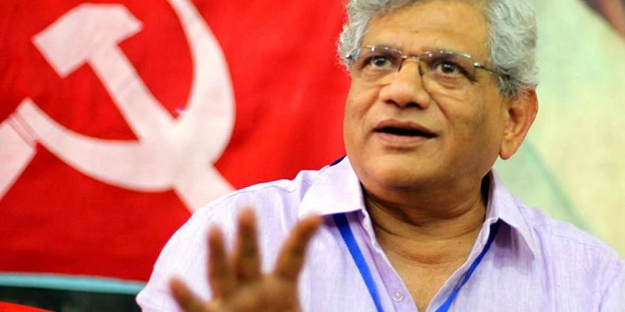 CPM general secretary Sitaram Yechury.