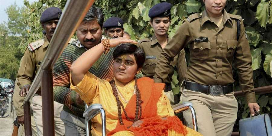BJP MP Pragya Thakur. | (File | PTI)
