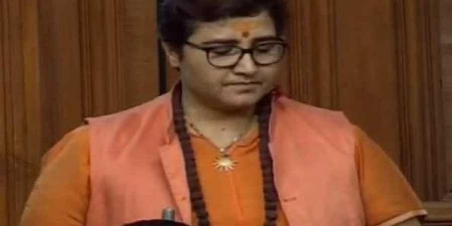 BJP Lok Sabha MP Pragya Singh Thakur.