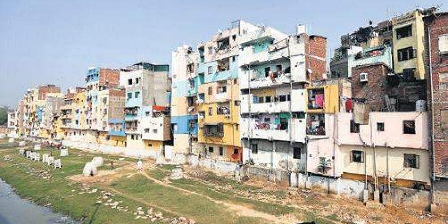 Representational picture of unauthorised colonies in Delhi