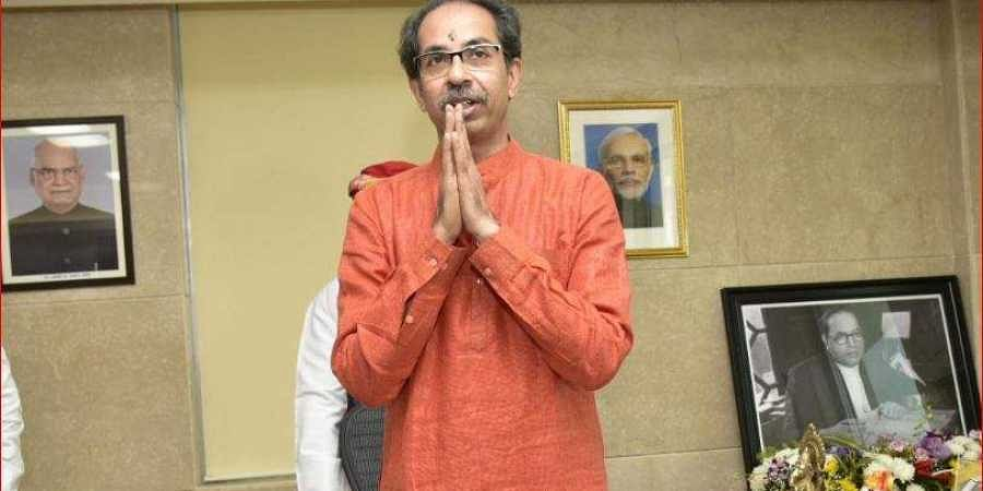 Maharashtra Chief Minister Uddhav Thackeray.