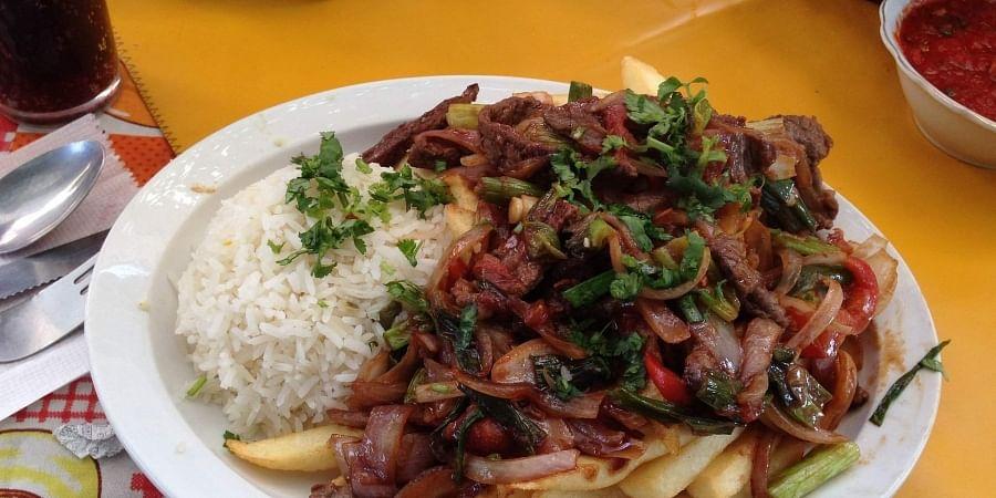 Representational image of Peruvian food